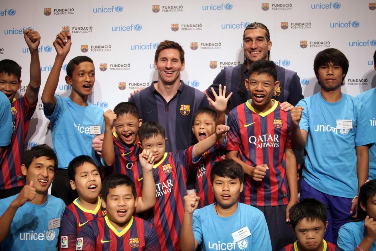 Messi a Pinto bojujú za rovnaké šance pre mladých futbalistov s postihnutím