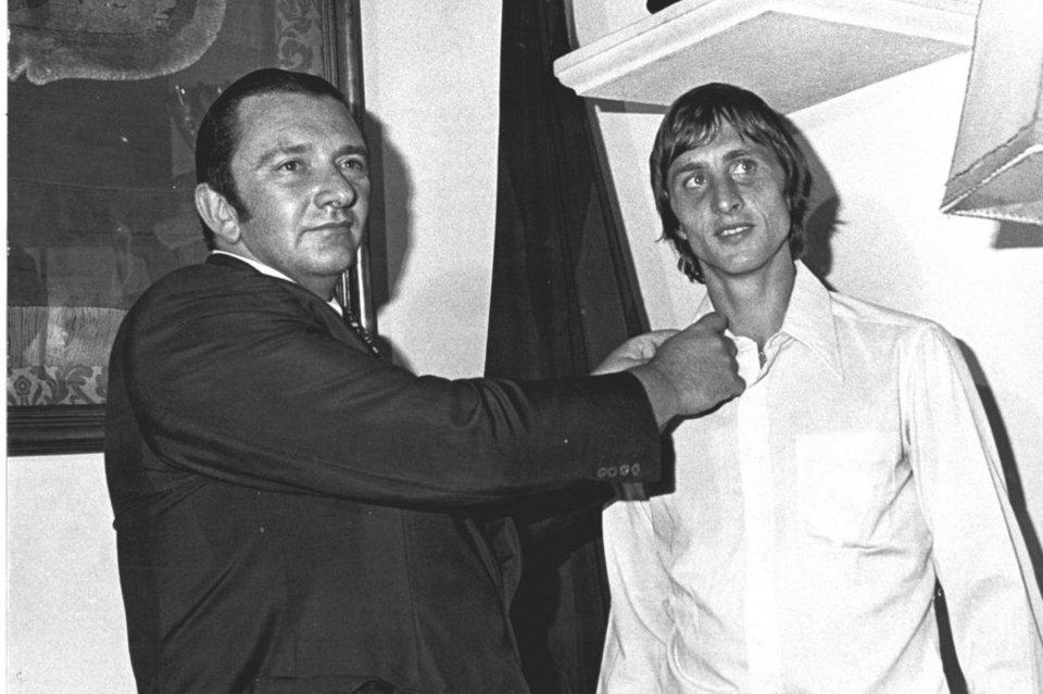 40. výročie od podpisu zmluvy Johana Cruyffa